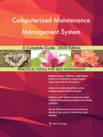 Computerized Maintenance Management System A Complete Guide - 2020 Edition