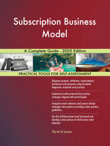 Subscription Business Model A Complete Guide - 2020 Edition
