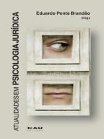 Atualidades em Psicologia Jurídica