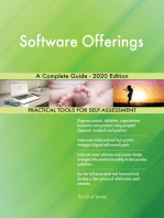 Software Offerings A Complete Guide - 2020 Edition