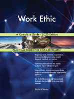 Work Ethic A Complete Guide - 2020 Edition