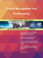 Product Management And Roadmapping A Complete Guide - 2020 Edition