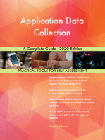 Application Data Collection A Complete Guide - 2020 Edition