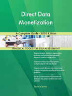 Direct Data Monetization A Complete Guide - 2020 Edition