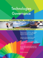 Technologies Governance A Complete Guide - 2020 Edition