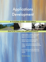 Applications Development A Complete Guide - 2020 Edition