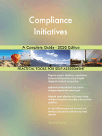 Compliance Initiatives A Complete Guide - 2020 Edition
