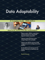 Data Adaptability A Complete Guide - 2020 Edition