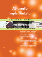 Automation Implementation A Complete Guide - 2020 Edition