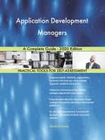 Application Development Managers A Complete Guide - 2020 Edition