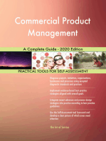Commercial Product Management A Complete Guide - 2020 Edition