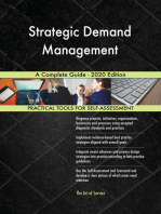 Strategic Demand Management A Complete Guide - 2020 Edition