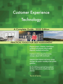 Customer Experience Technology A Complete Guide - 2020 Edition