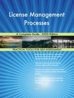 License Management Processes A Complete Guide - 2020 Edition