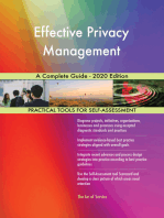 Effective Privacy Management A Complete Guide - 2020 Edition