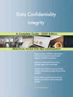 Data Confidentiality Integrity A Complete Guide - 2020 Edition