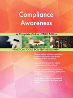 Compliance Awareness A Complete Guide - 2020 Edition