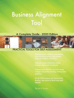 Business Alignment Tool A Complete Guide - 2020 Edition
