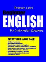 Preston Lee's Beginner English For Indonesian Speakers