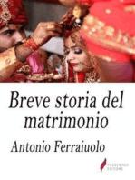 Breve storia del matrimonio