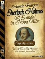 A Scandal in Nova Alba - Stage-play version