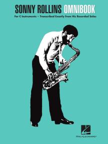Sonny Rollins Omnibook: for C Instruments