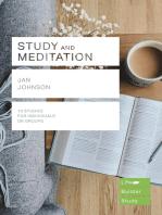 Study and Meditation (Lifebuilder Study Guides)