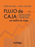 Flujo de caja y proyecciones financieras con análisis de riesgo 3a edición
