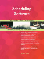 Scheduling Software A Complete Guide - 2020 Edition
