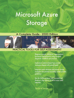 Microsoft Azure Storage A Complete Guide - 2020 Edition