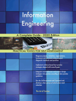 Information Engineering A Complete Guide - 2020 Edition