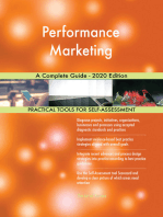 Performance Marketing A Complete Guide - 2020 Edition