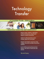 Technology Transfer A Complete Guide - 2020 Edition
