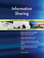 Information Sharing A Complete Guide - 2020 Edition