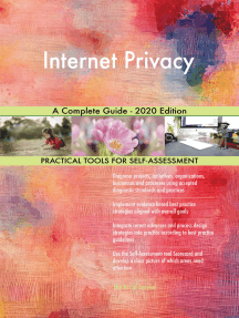 Internet Privacy A Complete Guide - 2020 Edition
