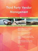 Third Party Vendor Management A Complete Guide - 2020 Edition