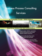 Business Process Consulting Services A Complete Guide - 2020 Edition