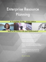 Enterprise Resource Planning A Complete Guide - 2020 Edition