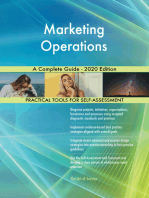 Marketing Operations A Complete Guide - 2020 Edition