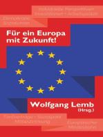 Für ein Europa mit Zukunft