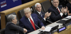 Trump Skips Most Of UN Climate Summit For Speech On Religious Freedom