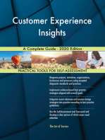 Customer Experience Insights A Complete Guide - 2020 Edition