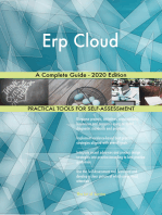 Erp Cloud A Complete Guide - 2020 Edition