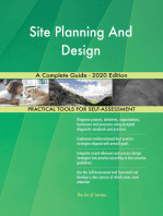 Site Planning And Design A Complete Guide - 2020 Edition