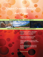 Object Oriented Analysis And Design A Complete Guide - 2020 Edition