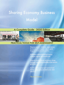 Sharing Economy Business Model A Complete Guide - 2020 Edition