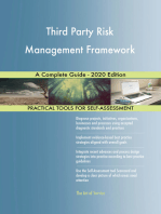 Third Party Risk Management Framework A Complete Guide - 2020 Edition