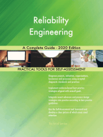 Reliability Engineering A Complete Guide - 2020 Edition