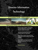 Director Information Technology A Complete Guide - 2020 Edition