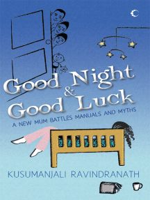 Good Night and Good Luck : A New Mum Battles Manuals And Myths